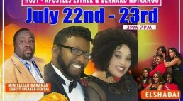 Shekainah House of Refuge Crusade Explosion July 22-23 Host:Apostles Esther & Bernard Ndirangu