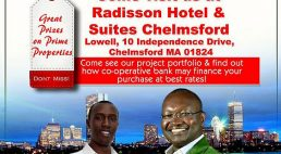 Golden Pearl Properties Ltd Boston-Lowell- Tour Diaspora Presentation Radisson Hotel Saturday July 23rd 2017 @4pm   to   9Pm