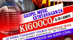 Gospel Music Extravaganza Kigooco & CD Launch  Sept 16th 2017 5Pm to 10Pm