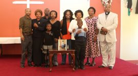 Memorial Service held  for the late Delfina Waithera Kuria at St Stephen's Church Lowell(Video)