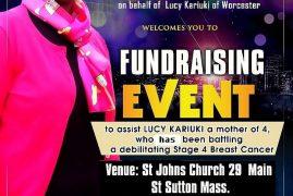 The organizing Committee Sub Committee,KWITU,KDTV Lucy Kariuki Fundraising Event Nov 4th 2017@3PM