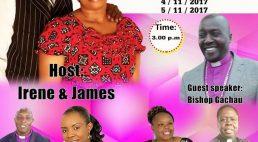 Joy of Praise Celebration Ministry:Anniversary & Ordination Nov.4th & Nov 5th 2017