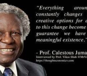 Center for African Studies mourns the passing of Calestous Juma