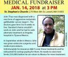 Urgent Community Appeal JOHN THUO Jan 14th 2018 @ 3PM St Stephen's Church Lowell,MA 279 West 6th Street,Massachusetts