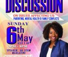 Uhai for Health:A Community Discussion on issues affecting us:Parenting,Mental Health & Family Conflicts