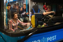 Exhaustion, elation as 5,000 migrants reach Austria, Germany