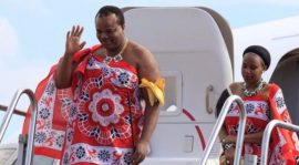 Swaziland's King Mswati III Picks 19-Year-Old Daughter of His Cabinet Minister as 14th Wife
