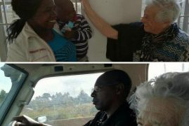 93-year-old Italian Grandma  Headed to Kenya to Volunteer at an Orphanage(Video)