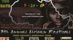 SAVE THE DATE -7th Annual African Festival of Boston!