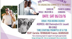 PRE-WEDDING INVITATION – CAROLYN NDULE MUSYIMI & FRANCIS KAMAU KANGARA