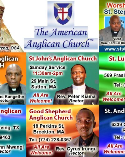Kenyan Anglican Parishes in the USA