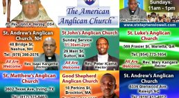 Photos:Kenyan Anglican Parishes in the USA