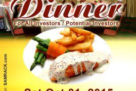 Dinner Invitation at Radisson Hotel by BTC Properties & Kisaju Plains Gardens