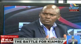 William Kabogo defends his tenure as Kiambu Governor insisting he is the best candidate