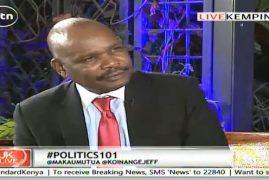 Jeff Koinange Live with Prof. Makau Mutua Analyzing Kenyan Politics