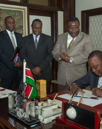 Uhuru finally assents to interest rates bill