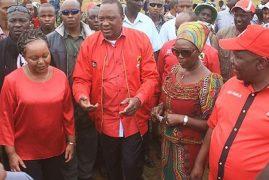 Martha Karua Storms Out of President Uhuru's Meeting