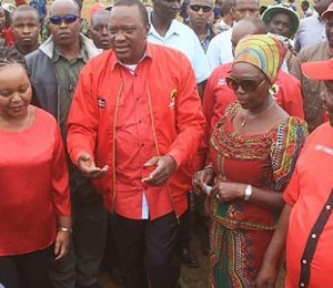 Martha Karua Storms Out of President Uhuru's Meeting