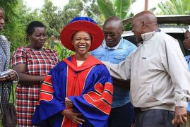 Meet Dr Purity Ngina, Kenya's youngest PhD holder in Biomathematics