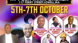 PCEA IMANI CHURCH ANNUAL 2018 CONVENTION OCT 5th-7th 2018 @117 PERRY S,LOWELL MASSACHUSETTS