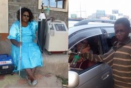 Photos:Kenyan Woman Who Was Blind And Confined To Wheelchair for 7 Years Finally Heals (PHOTOS)