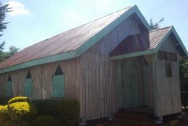 The Beginning of St Paul's Anglican Church, Kabete, Kenya