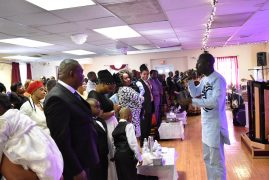 Photos:Memorial Service held for the late  Tabitha Wainaina mother to Susan WAINAINA of Peabody and Peninah/Edwin Idehen of Methuen Massachusetts