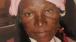 Thanksgiving/Memorial Service Update:Death Announcement/Transition: Julia Wanjiku Ndungu