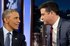 Barack Obama on Jimmy Kimmel Live: 'In Kenya we drive on the other side'
