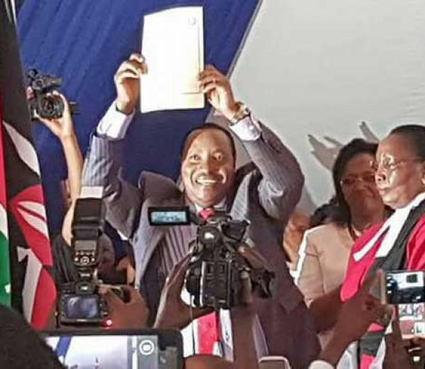 Waititu takes over as Kiambu governor