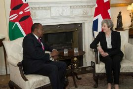 Uhuru, PM May to discuss trade and anti-graft war issues