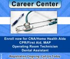 MEDICAL CAREER CENTER,WORCESTER,REGISTER FOR HHA & NURSES AIDE TRAININGS
