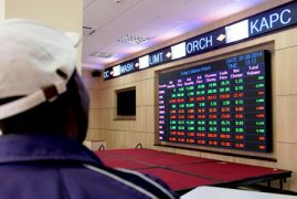 Foreigners push Equity Bank stock past KCB at the bourse