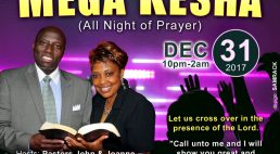 Christ is The Answer Church C.I.T.A.C New Years Eve Crossing Over Mega Kesha Dec 31st 2017 10Pm – 2Am