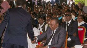 Uhuru, Raila in pledge to accept fresh poll results