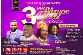 Prag Ministries for All Nations (M.O.DM) Prayer Movement Revival Conference May 25th,26 & 27th 2018