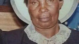 TRANSITION/DEATH ANNOUNCEMENT of Mrs. Priscilla Wanjiru Muita (mother to Fredrick & Susan Muita of Lowell & Lawrence Massachusetts)