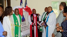 Kenyan Anglican Bishop Joel Waweru Launches Church in US  (PHOTOS|VIDEOS)
