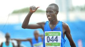 Kenyans take distance titles at Boston meet