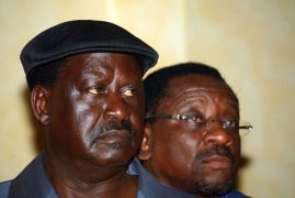Kenyans elicit mixed reactions after NASA's announcement on how it plans to welcome its leader Raila Odinga