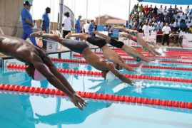 Kenya junior swimming team finishes 9th in CANA championship