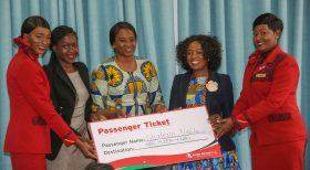 Two young innovators to join 470 passengers on inaugural direct KQ flight to New York