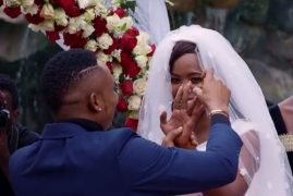 SANAIPEI TANDE, OTILE BROWN SAY 'I DO' – VIDEO