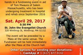 Community Appeal: Tom Mwaura Medical Fund