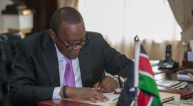 NASA cries foul after Uhuru implements part of its manifesto