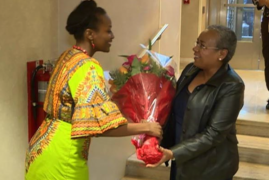First Lady Arrives in New York for 59th Session of the CSW
