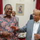 Uhuru meets Mo Ibrahim Foundation delegation at State House