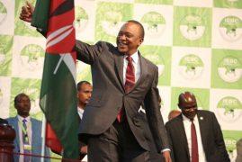 Kenya's Kenyatta defends his victory in repeat elections
