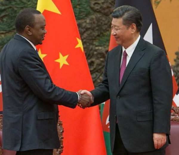 President Kenyatta congratulates President Xi Jinping following his re-election