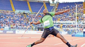 Kenyan Javelin Champ Yego breaks Record, Again